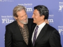 2017 SBIFF American Riviera Award honoring Jeff Bridges presented by actor Gil Birmingham